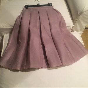 Dresses & Skirts - Women's dusty pink pleated skirt-ca